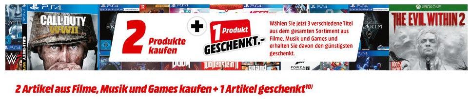 MediaMarkt 3für2 Aktion