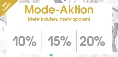 Mode Aktionsgutscheine bei Babymarkt.de