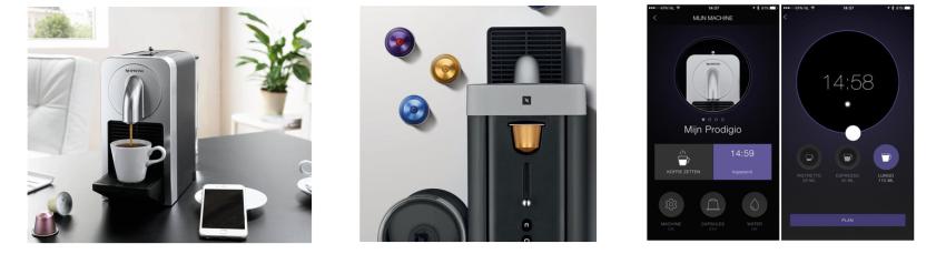 Nespresso Kapselmaschine mit App Steuerung