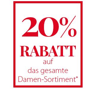 NKD: 20% Aktionsrabatt auf das gesamte Damen-Sortiment + 5,- Euro Newslettergutschein