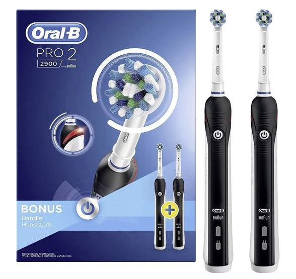 Oral-B Pro 2900 im Bonuspack mit zweitem Handstück