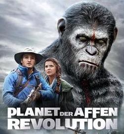 Planet der Affen Revolution inkl. DVD oder Blu-ray (nach Hause) vollkommen gratis im Sky-Store