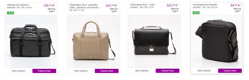 Porsche Design Taschen und Koffer