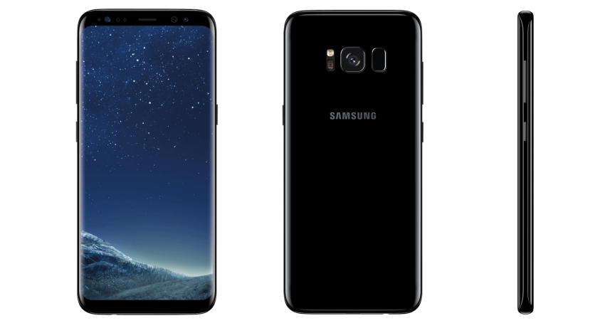 Samsung Galaxy S8 Detailaufnahme