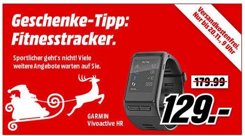 MediaMarkt Geschenke-Tipp mit vielen verschiedenen Fitness-Trackern