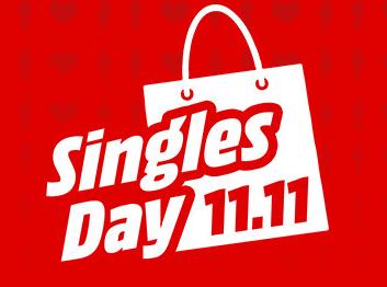 Nur bis 9:00 Uhr! MediaMarkt Singles Day mit unzähligen Angeboten und versandkostenfreier Lieferung!