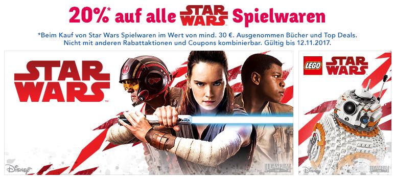 20% auf Star Wars Spielzeug