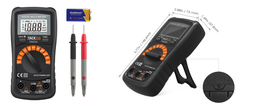 Tacklife Multimeter
