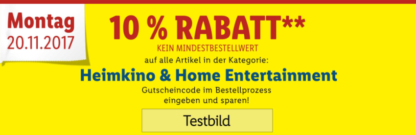 10% Lidl Gutscheincode