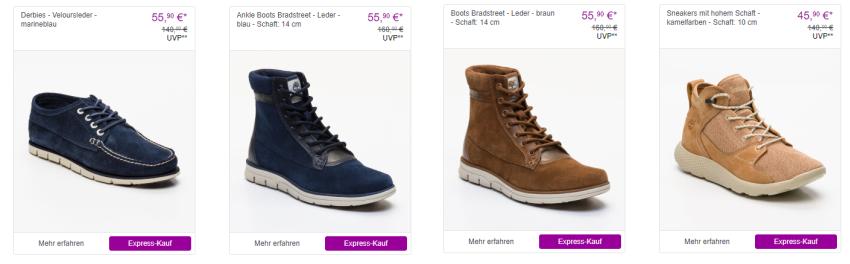 Timberland Schuhe bei Vente-Privee kaufen