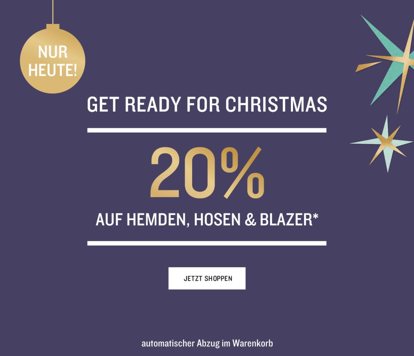 20% Rabatt auf Blusen, Hemden, Hosen, Blazer und Kleider im Tom Tailor Onlineshop