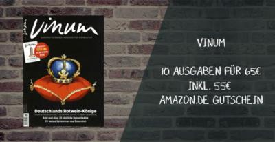 Vinum Abo mit Amazon gutschein