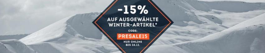 SportScheck Winter Presale