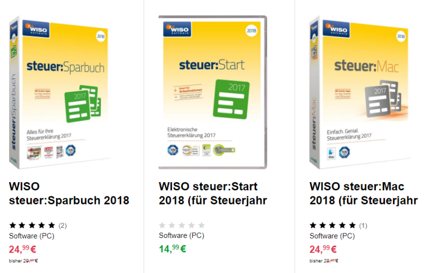 Wiso Sparbuch 2018