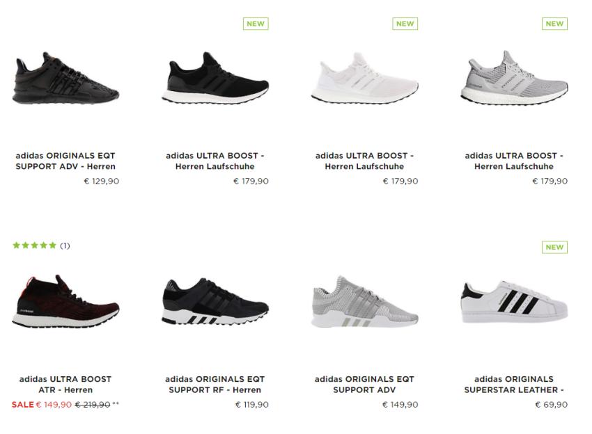 15% Rabatt auf Alles von Adidas bei Sidestep