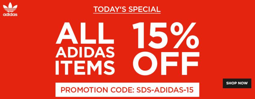 15% auf Adidas