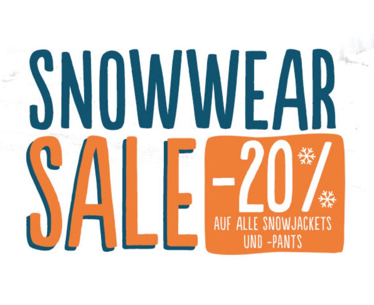 Blue Tomato: 20% Rabatt auf alle Snowboardjacken- und hosen + kostenloser Versand