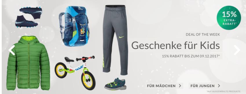 Geschenke für Kinder bei Engelhorn