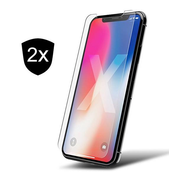 Schnell sein! 2er Pack iPhone X Schutzfolie gratis
