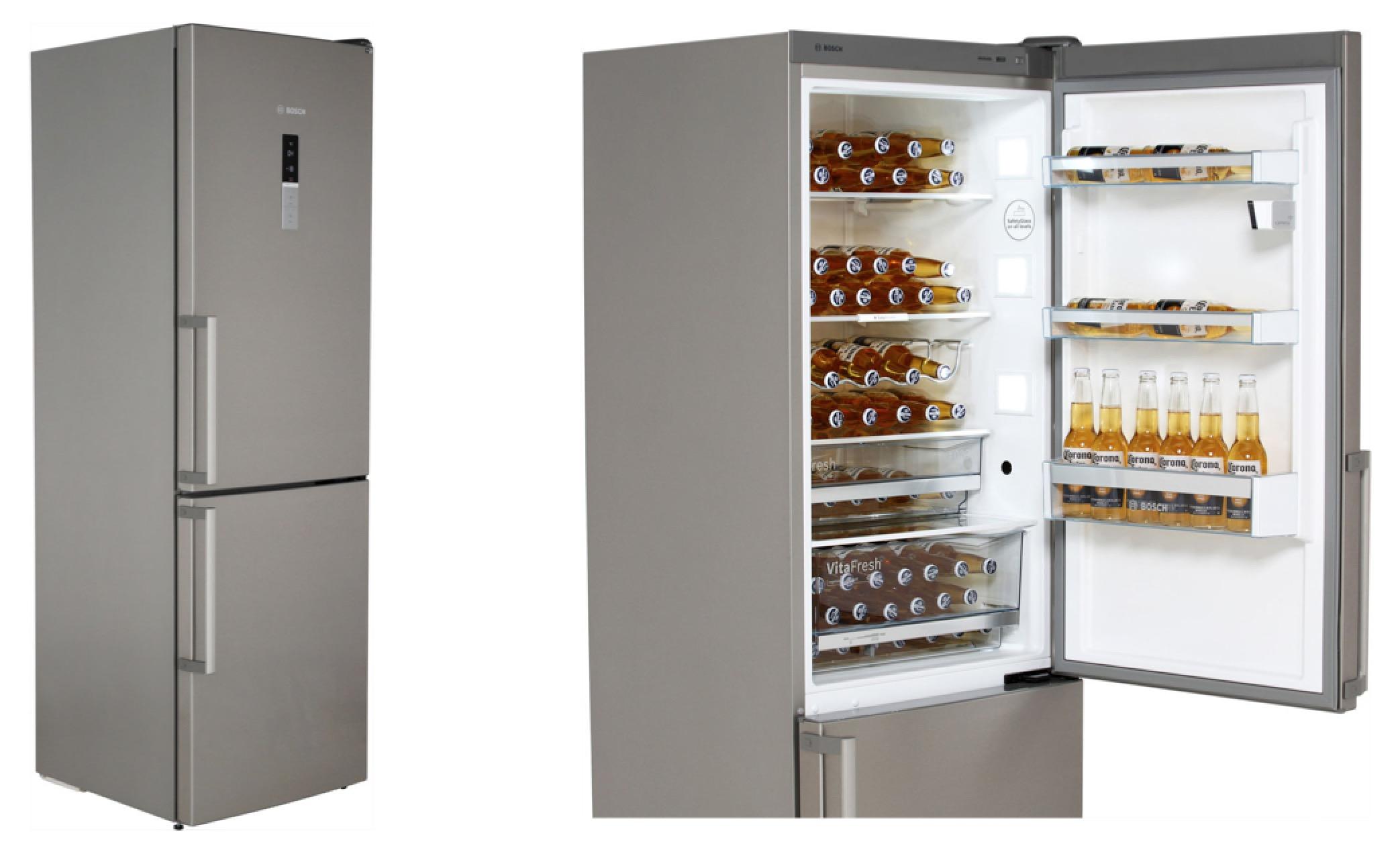 Bosch Kühlschrank Gefrierkombination : Bosch serie kgn hi kühl gefrierkombination mit no frost für