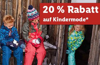 Im Lidl Onlineshop heute satte 20% Rabatt auf Kindermode