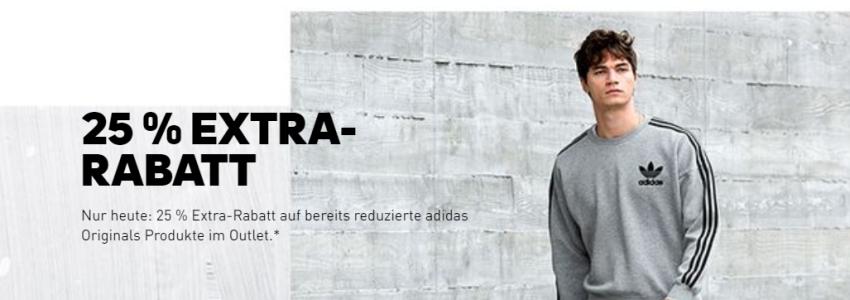 Adidas 25% Rabatt