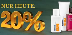 20% Rabatt auf Düfte