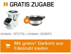 Knaller! Krups Prep&Cook HP5031 Küchenmaschine inkl. Krups Dampfgaraufsatz für nur 339,15 Euro inkl. Versand