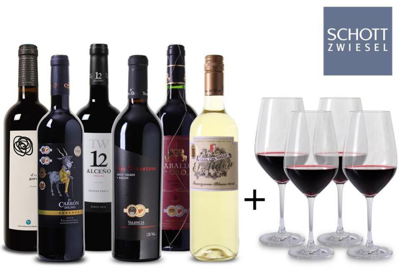 Weinpaket Spanien bei Weinvorteil