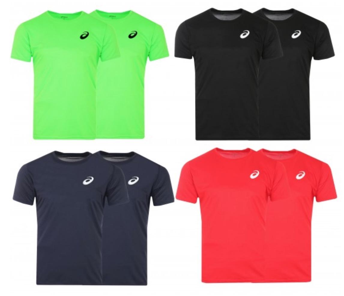 Asics Performance Herren Sportshirt in verschiedenen Farben für nur 17,99 Euro im Doppelpack