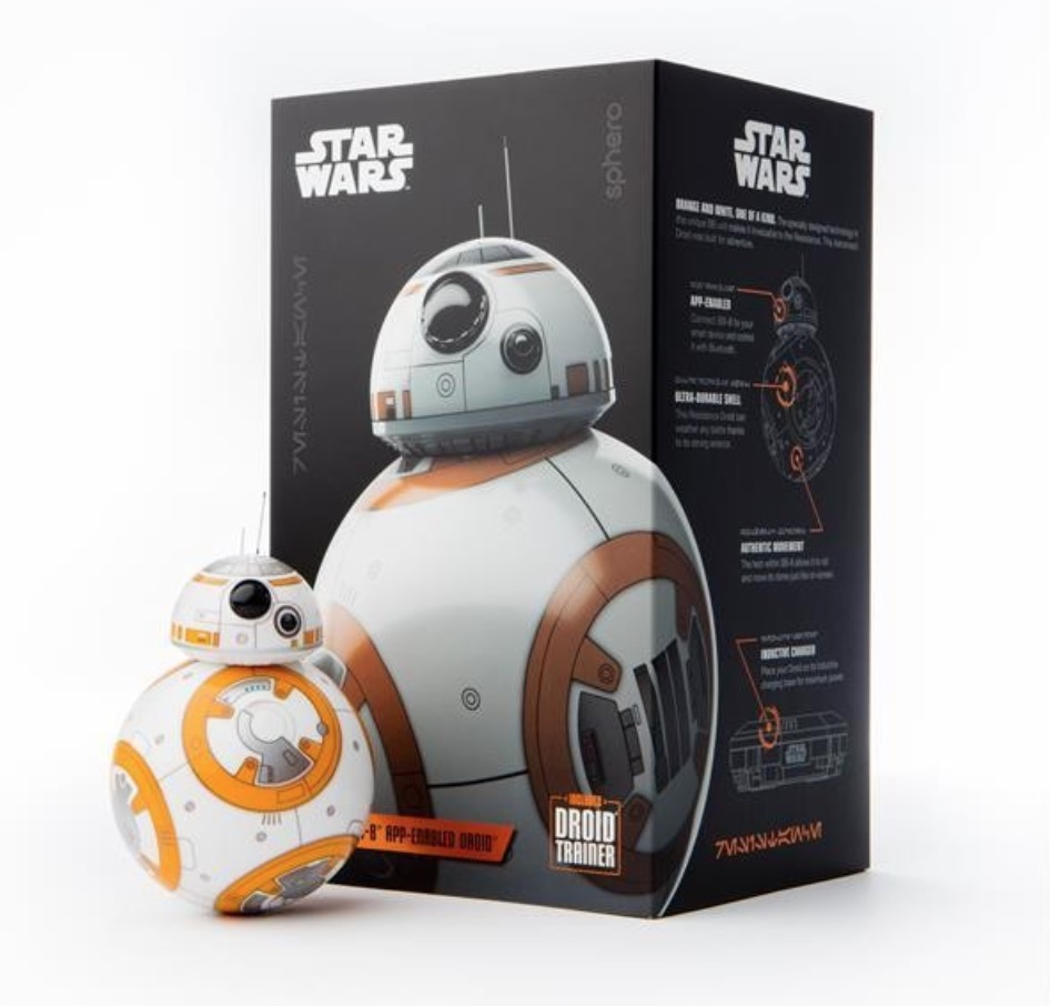 Per App steuerbarer Sphero BB-8 Star Wars Droide für nur 89,- Euro inkl. Versand