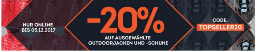 20% Gutschein bei Sportscheck