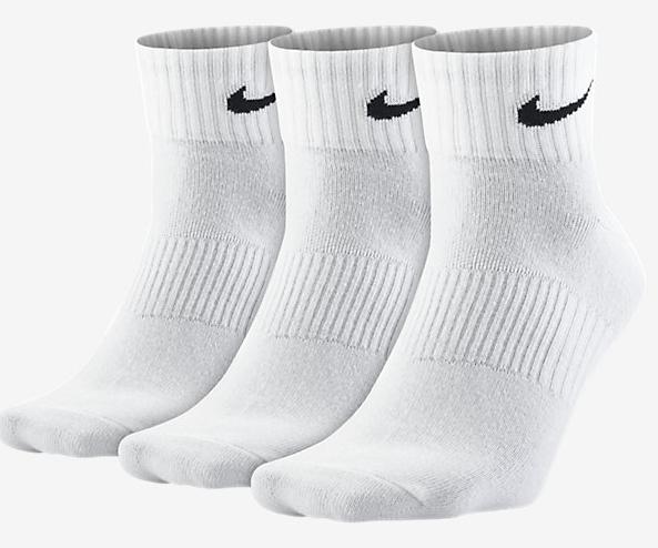 3er Pack Nike Lightweight Quarter Socken schon für 4,80 Euro