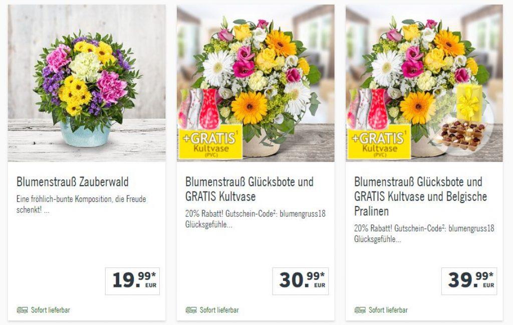 Blumen Gutscheincode