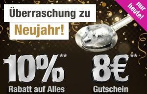 Nur heute: 10% Rabatt auf Alles oder 8,- Euro Rabatt ab 50,- Euro MBW bei GartenXXL