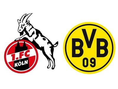 1. FC Köln gegen Borussia Dortmund
