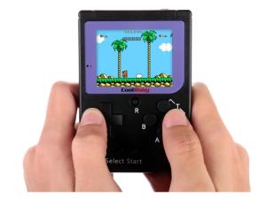 Pocket Handheld Spielekonsole mit 129 vorinstallierten Games für nur 13,99 Euro inkl. Versand