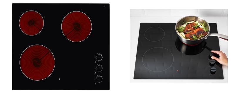 ikea lagan hgc3k keramikkochfeld autark mit 3 platten f r nur 99 euro. Black Bedroom Furniture Sets. Home Design Ideas