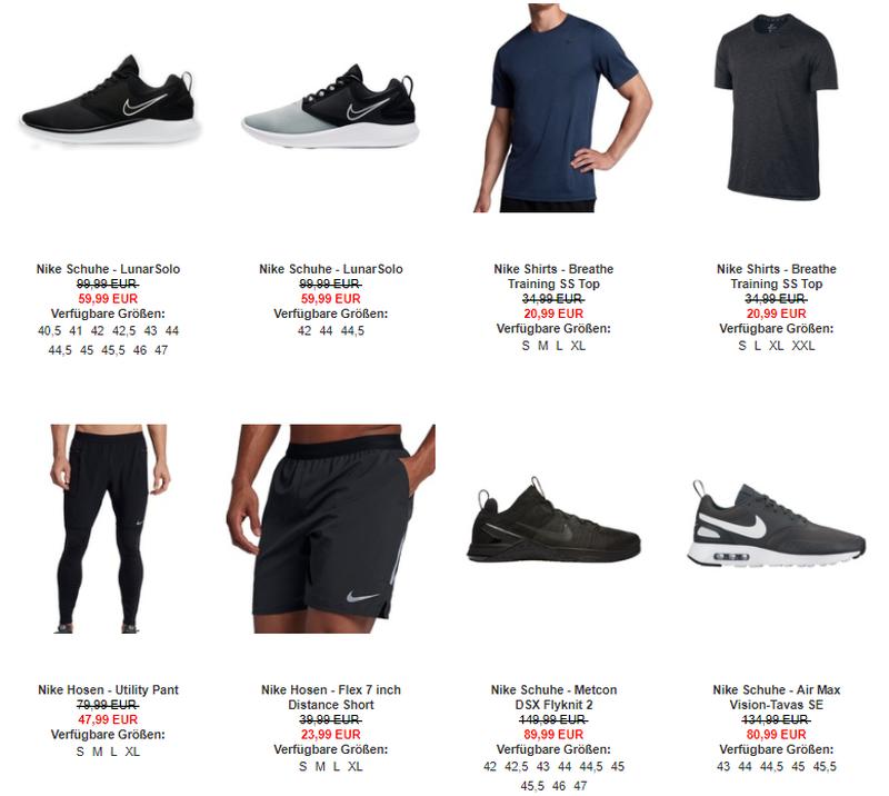 Rabattierte Nike Artikel bei My-Sportswear