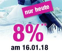Nur heute: 8% Rabatt auf Alles bei GartenXXL