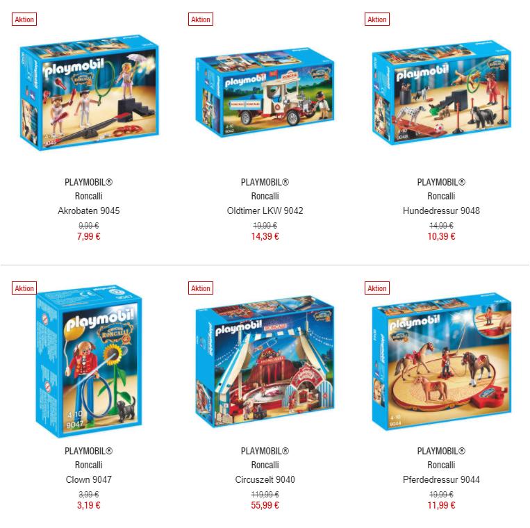 20% Rabatt auf Playmobil