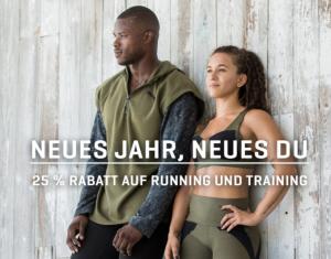 25% Rabatt auf die Kategorien Running und Training im Puma Onlineshop!
