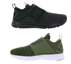 PUMA Sneaker Enzo Strap Knit in grün oder schwarz je 49,99 Euro inkl. Versand