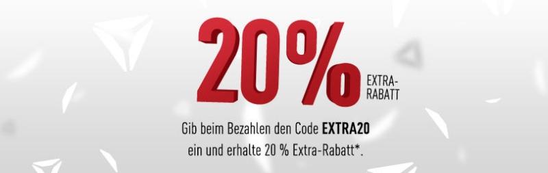 Reebok 20% Extra auf Sale