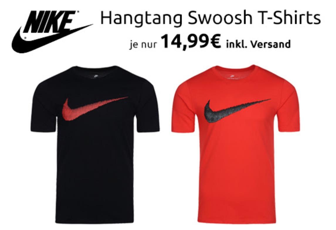 NIKE Hangtag Swoosh Herren T-Shirt für nur 14,99 Euro