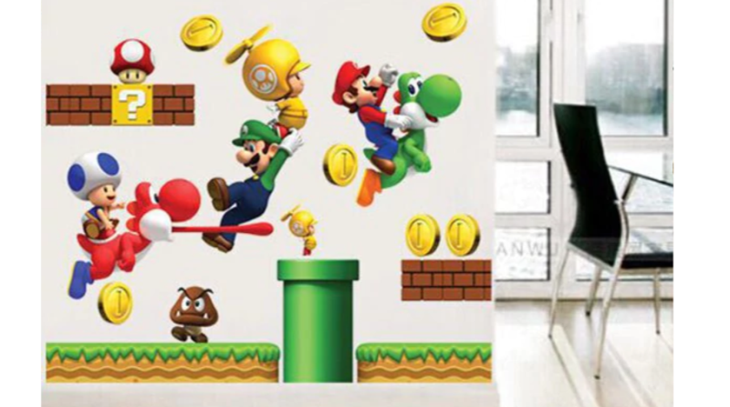 Mario Wallsticker
