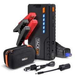 Tacklife T6 600A 16500mAh Powerbank mit LED Taschenlampe und Starthilfe-Funktion für nur 53,99 Euro