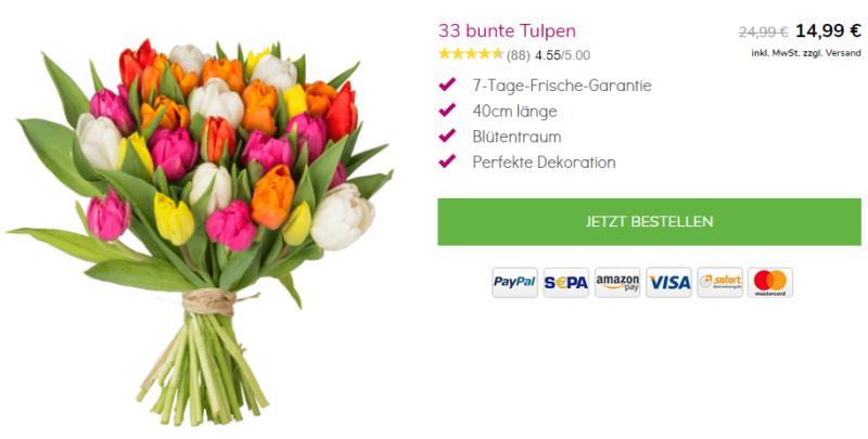 Tulpen bei Blumeideal bestellen
