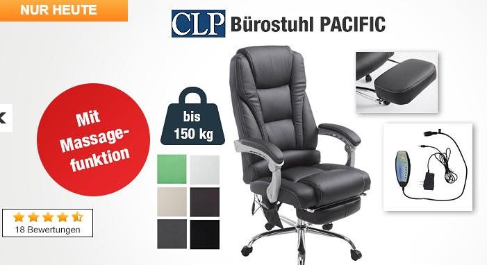 Clp Bürostuhl Pacific Mit Massage Funktion Für Nur 14499 Euro Inkl