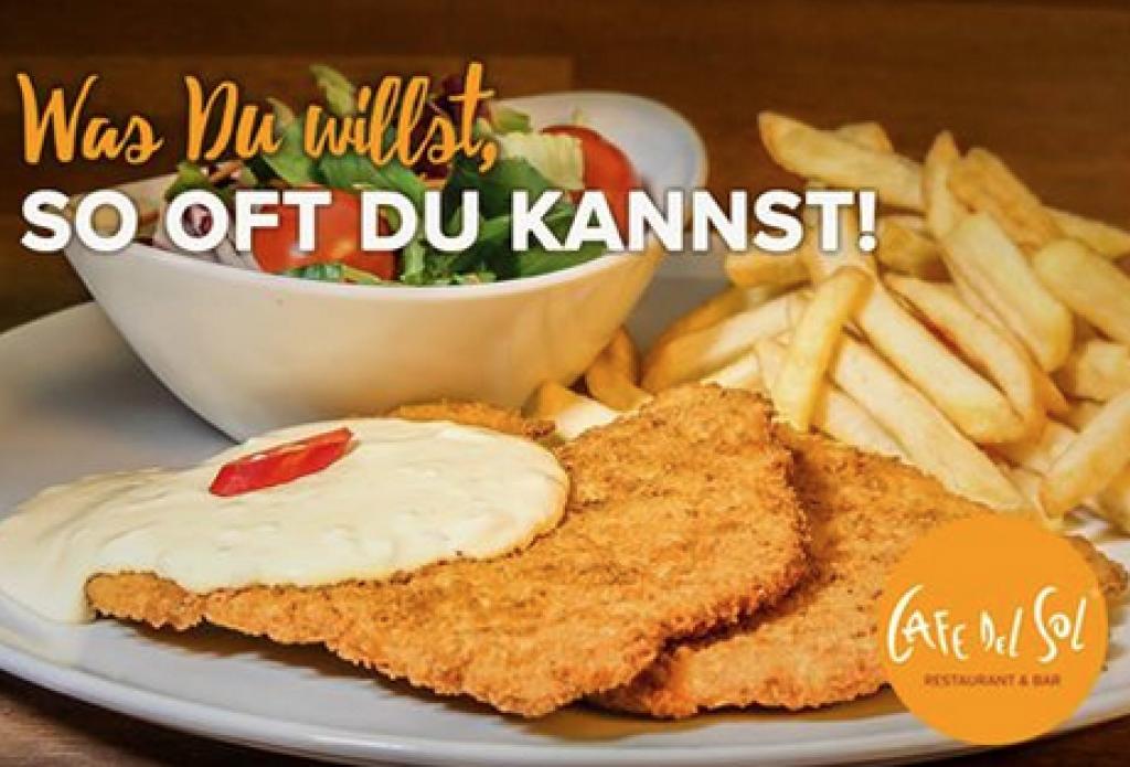 Cafe del Sol All-you-can-eat-Schnitzelurlaub für nur 11,90